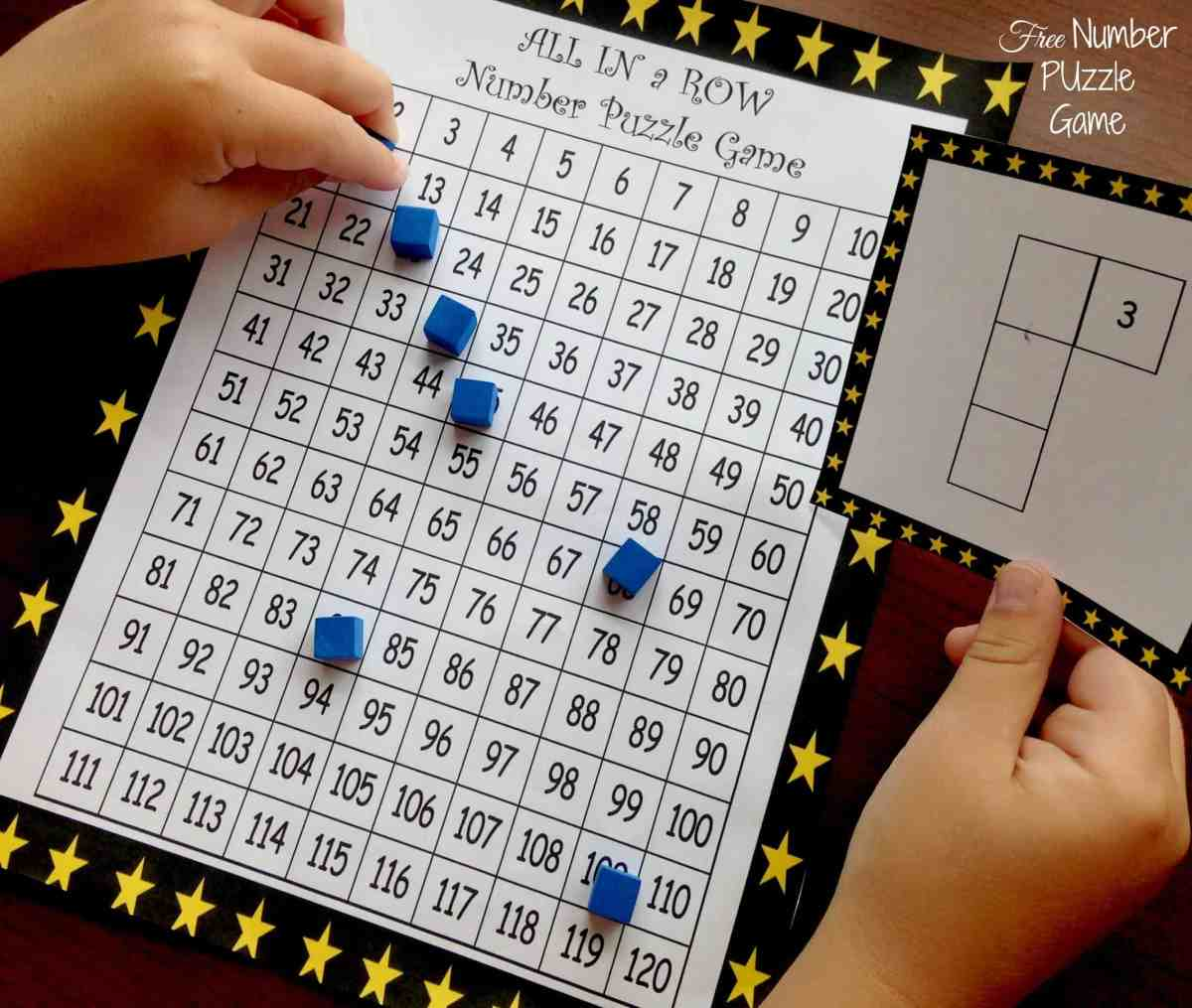 Here's a FREE Number Puzzle Game to Develop Number Sense